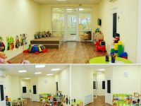 Большая групповая комната для младшей группы